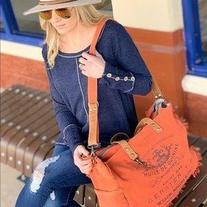 Carmine Weekender Bag